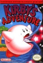 Kirby's Adventure NES Boxart Nintendo