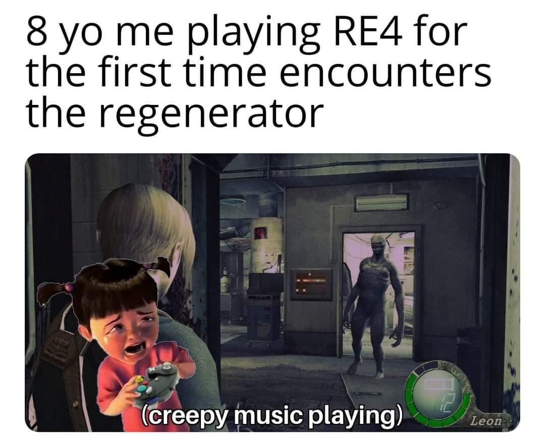 Memes  Resident evil four regenerator