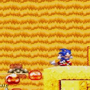 Guardian defeated sonic & Knuckles Sega Genesis Sega Mega drive