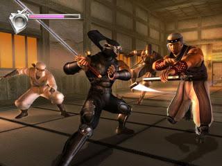 First boss battle ninja Gaiden Microsoft Xbox tecmo