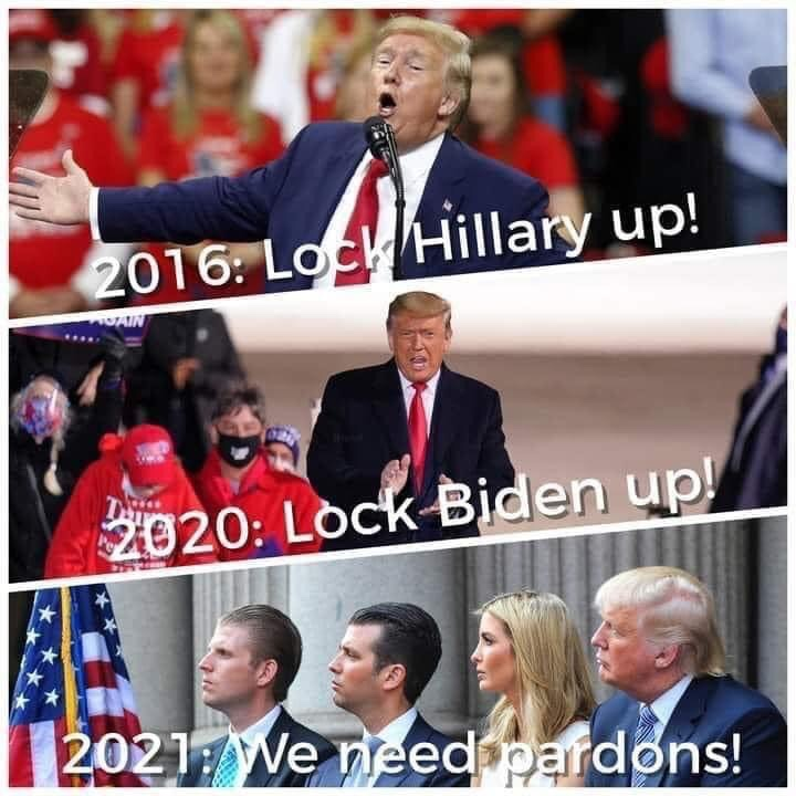 Memes Trump family are criminals