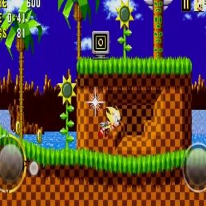 Super sonic sonic the Hedgehog 1 iPhone Android iOS mobile phones sega
