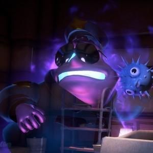 Luigi's Mansion 3 Kruller security guard scared of Luigi Nintendo Switch