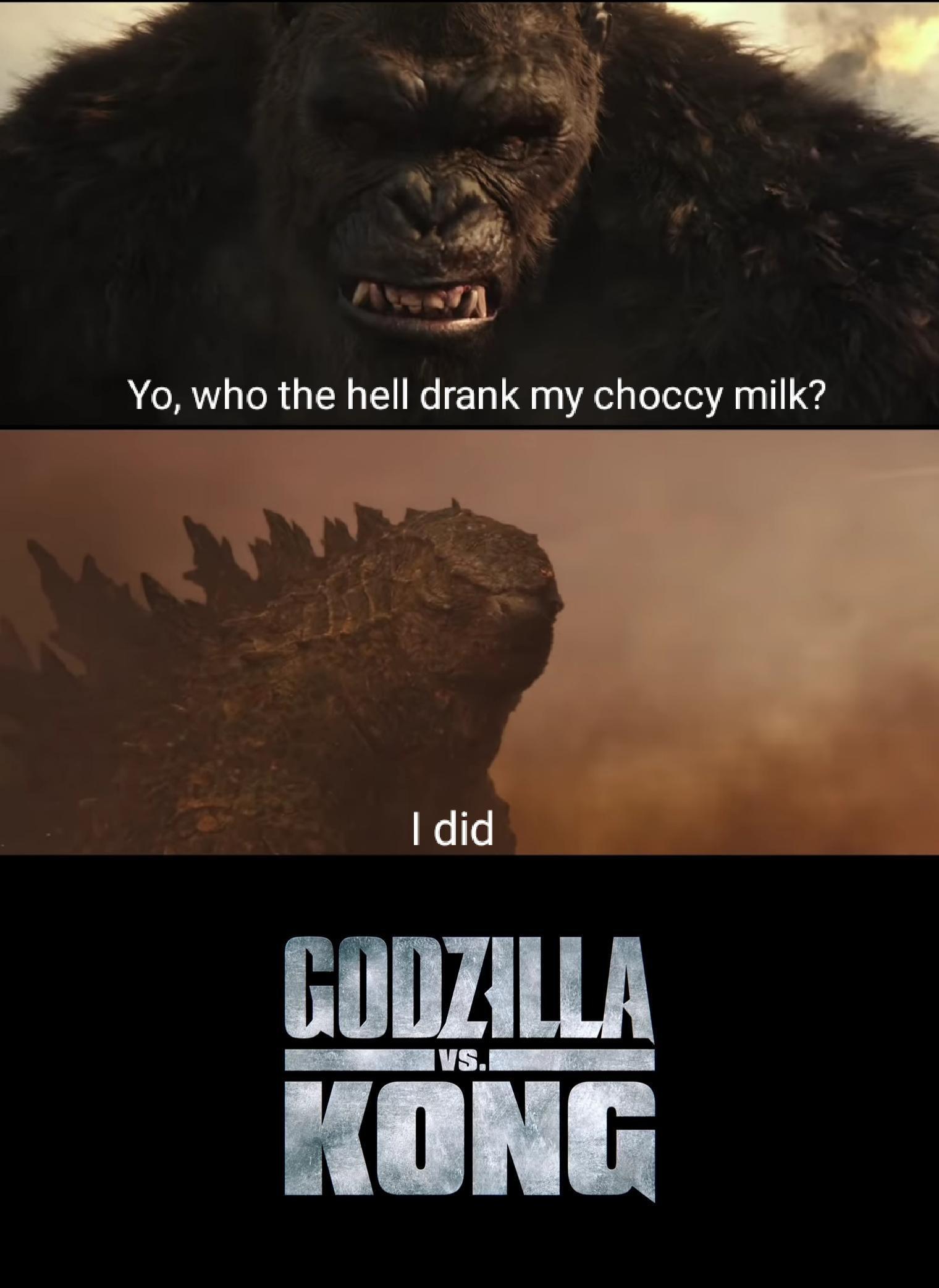 Memes Godzilla versus King Kong