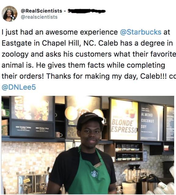 Memes Zoologist at Starbucks