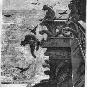 The Hunchback of Notre Dame artwork book virgin Victor Hugo