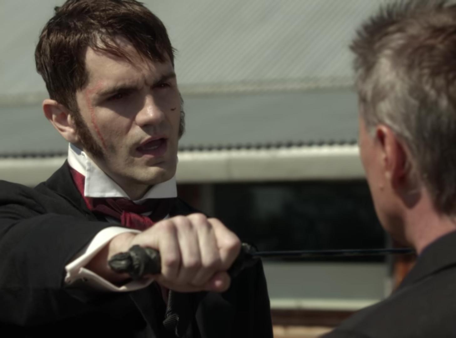 Mr Hyde versus Rumpelstiltskin once upon a time ABC Sam witwer
