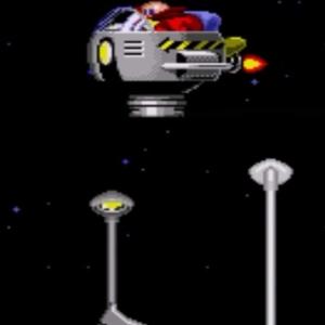 Star Light Zone boss Dr robotnik sonic the Hedgehog 1 Sega genesis Sega mega drive
