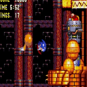 Sonic and tails vs Egg Golem Dr Eggman sonic & Knuckles Sega Genesis Sega Mega drive