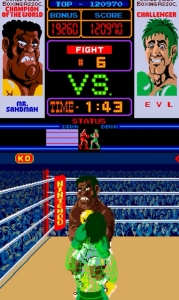 Punchout Mr sandman arcade version