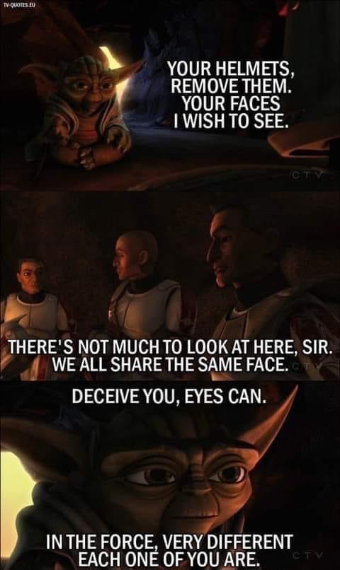 Memes Star Wars clone wars Yoda