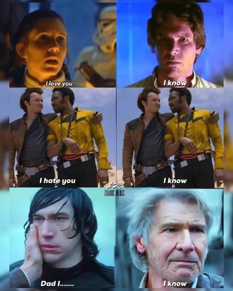 Memes Han solo I know Star Wars