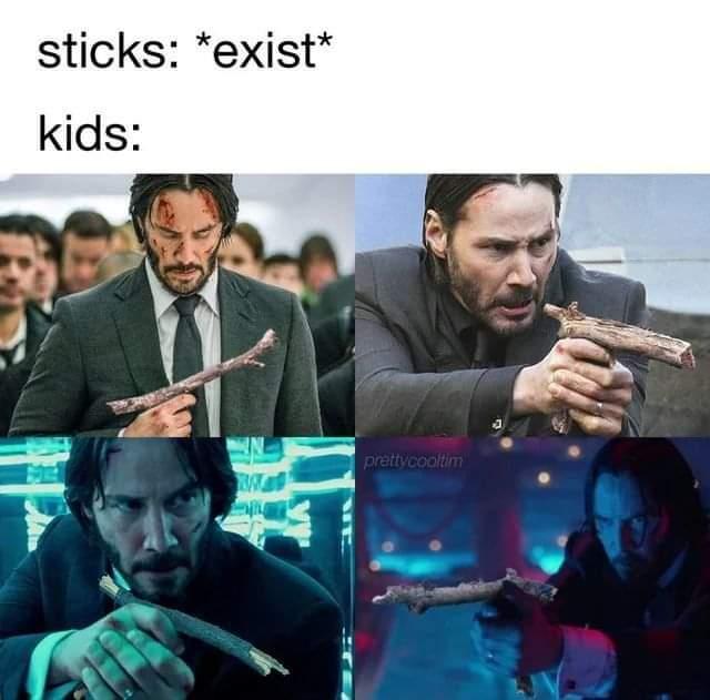Memes John wick Keanu Reeves