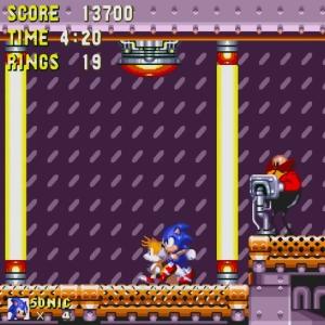 Sonic and tails vs Barrier Eggman sonic & Knuckles Sega Genesis Sega Mega drive