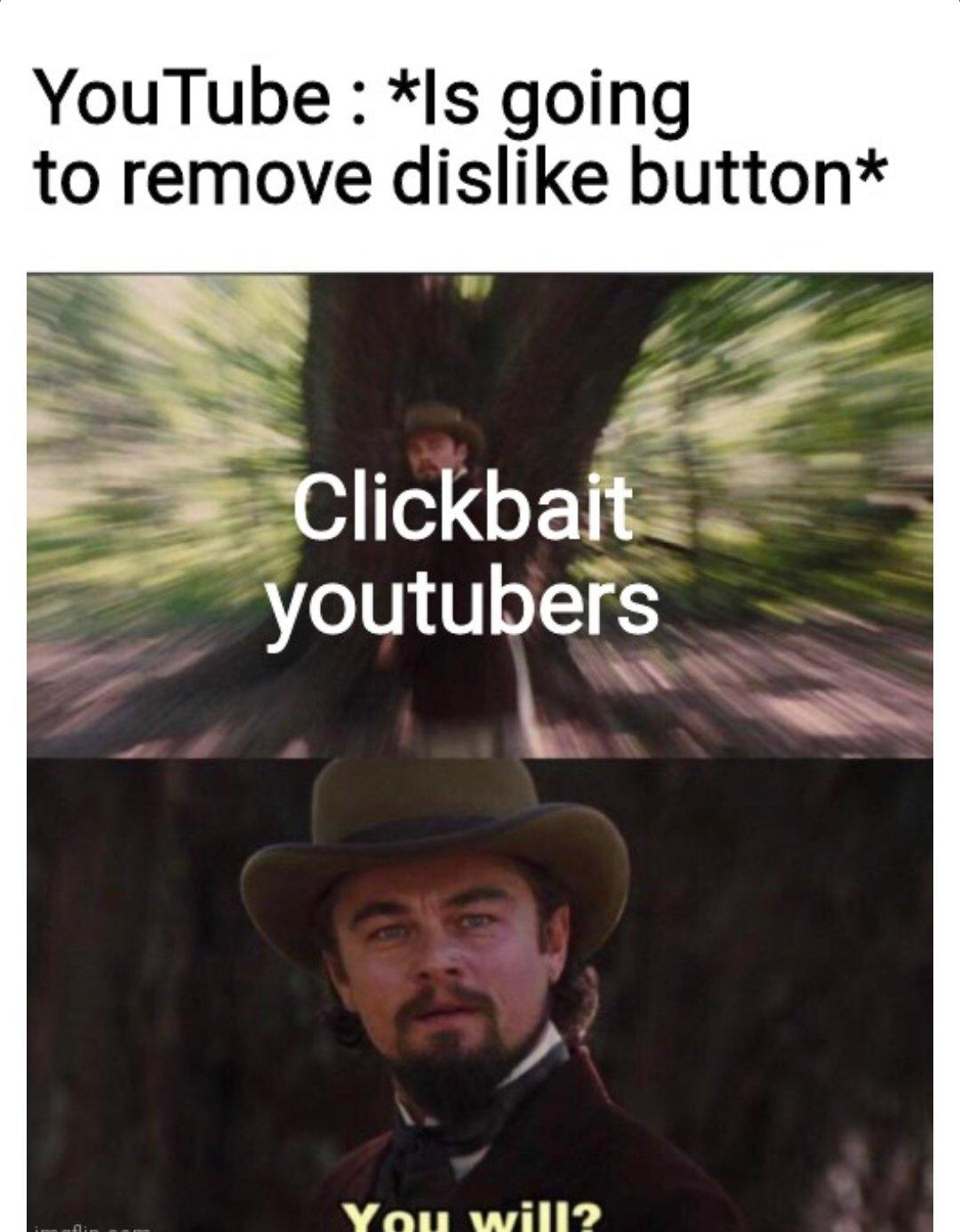 Memes Dislike button
