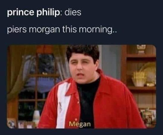 Memes Piers Morgan versus Meghan Markle