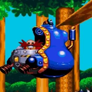 Jet Mobile Dr robotnik sonic & Knuckles Sega Genesis Sega Mega drive