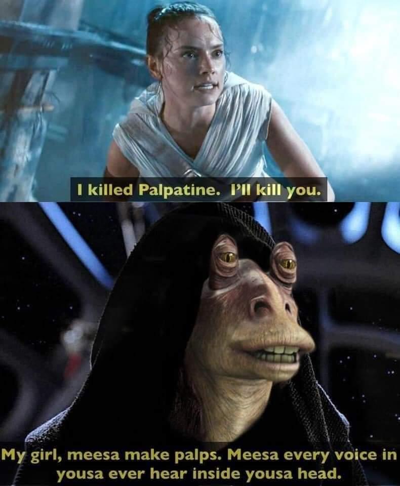 Memes Jar Jar Binks Sith Lord