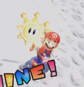 Proto-Piranha shine Super Mario Sunshine Nintendo GameCube