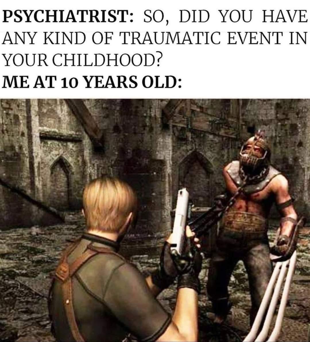 Memes Resident evil for Nintendo game cube
