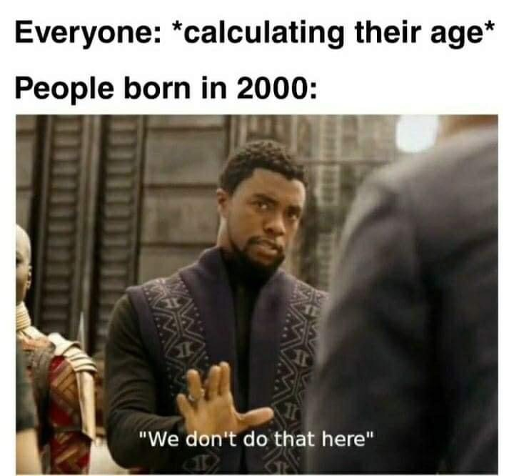 Memes People born in 2000