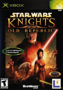 Star Wars: Knights of the Old Republic Boxart Microsoft Xbox bioware