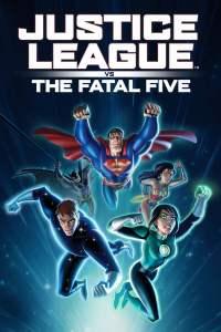 Justice League vs. the Fatal Five movie poster dc comics