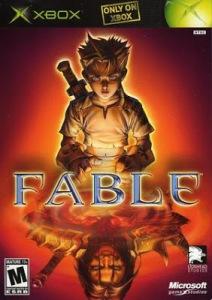 Fable Microsoft Xbox boxart