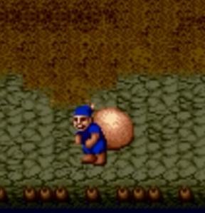 Blue Thief golden axe Sega genesis