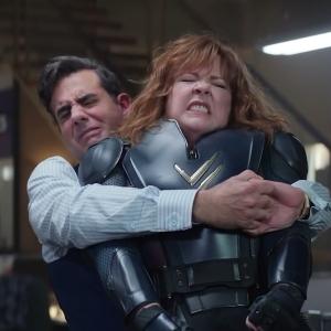 The king crushes Lydia Berman thunder force Netflix Bobby cannavale Melissa Mccarthy
