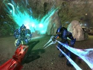 Halo 2 master chief energy sword vs elites Microsoft Xbox