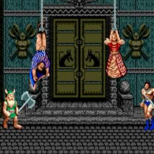 King and queen rescued golden axe Sega genesis arcade Sega mega drive