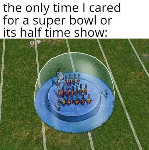 Memes SpongeBob SquarePants halftime show