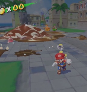 Proto-Piranha second boss battle Super Mario Sunshine Nintendo GameCube