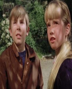 Tia Malone and Tony Malone escape to Witch mountain Disney Kim Richards Ike eisenmann