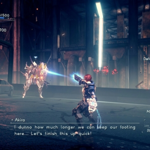 Boss battle laius astral chain Nintendo switch