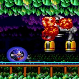 Drill Eggman II Defeated Sonic the Hedgehog 2 Sega genesis Sega mega drive