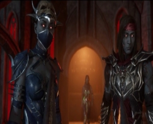 Mortal Kombat 11 Liu Kang Kitana Jade ruling over Netherworld Nintendo switch Xbox One PS4 PlayStation 4 WB Games