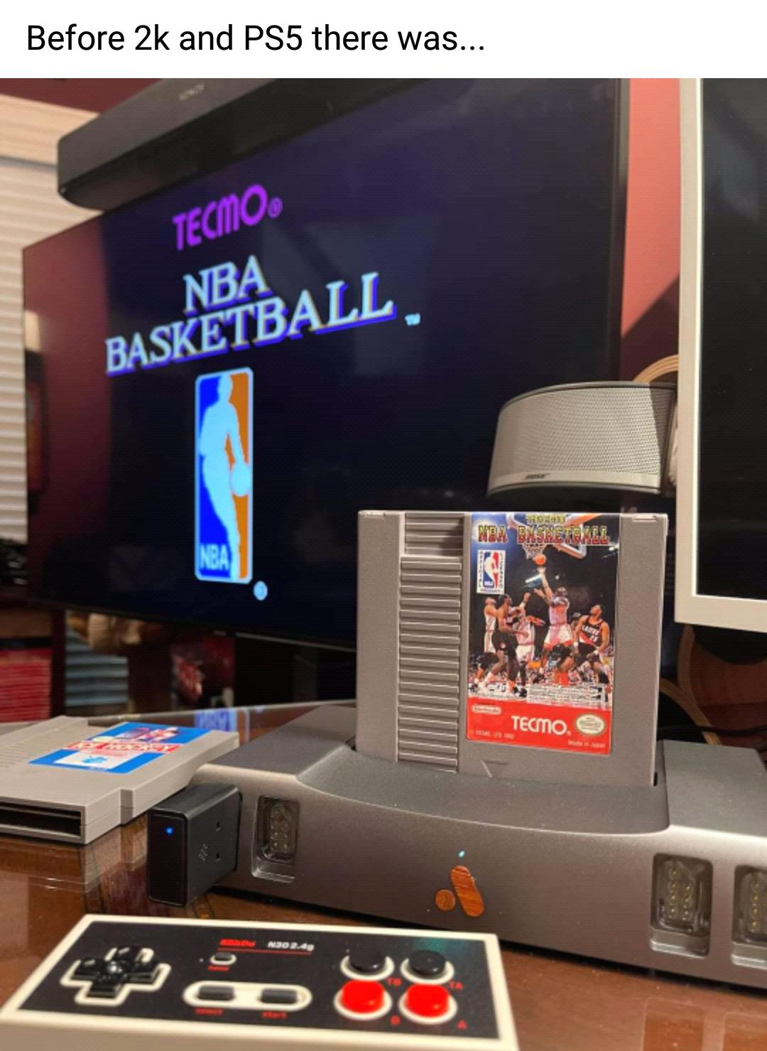 Memes NBA basketball nes Tecmo