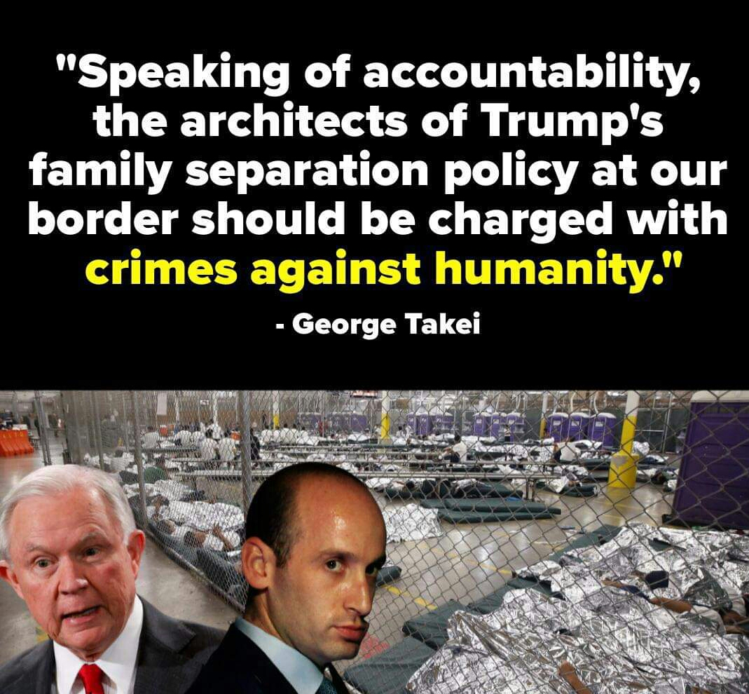 Memes Trump administration crimes against humanity
