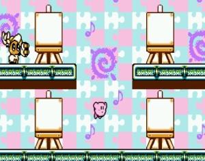 Kirby's Adventure paint roller balls Vs Kirby Nintendo Entertainment System