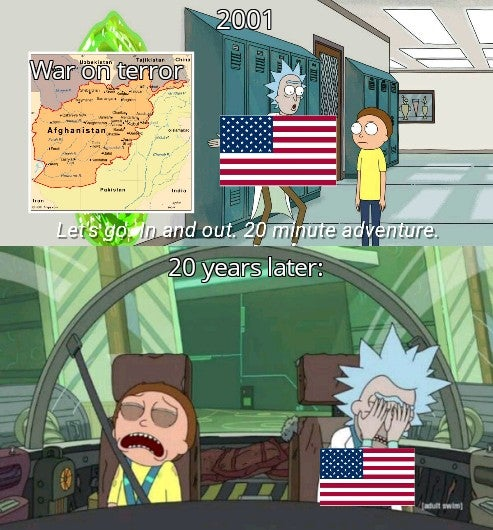 Memes United States of America's war on terror