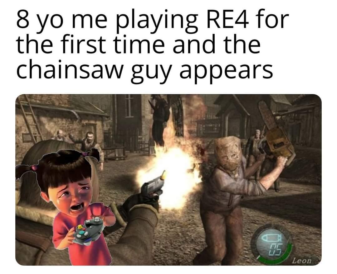 Memes Resident evil four chainsaw man