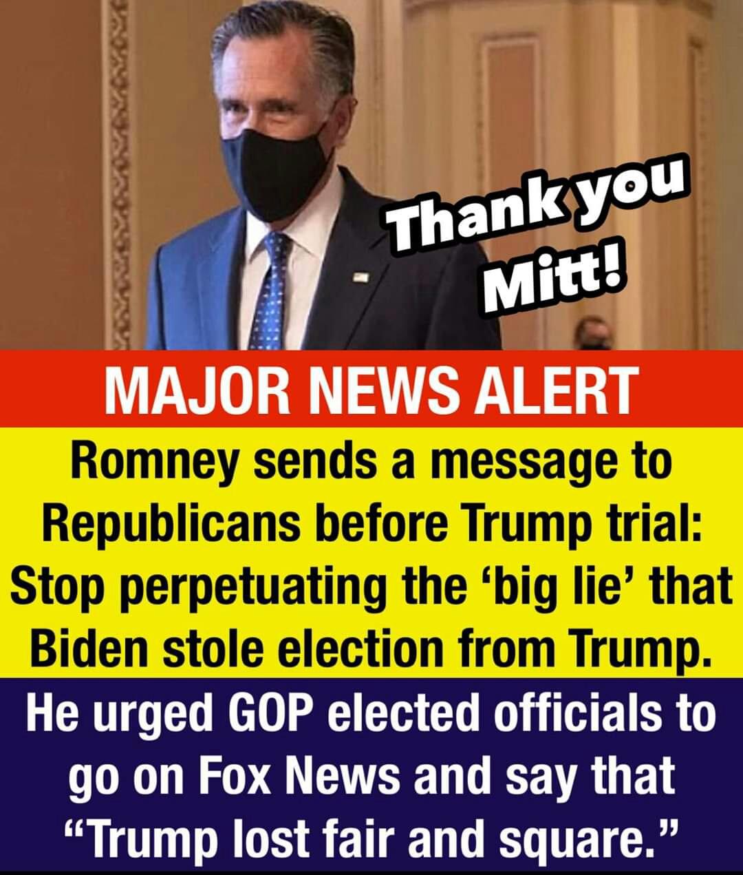 Memes Mitt Romney versus Donald Trump