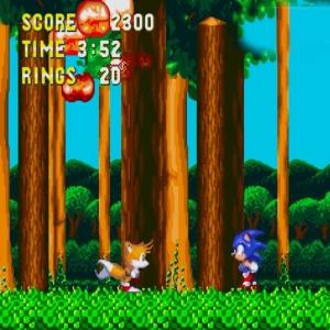 Hei Hou destroyed sonic & Knuckles Sega Genesis Sega Mega drive