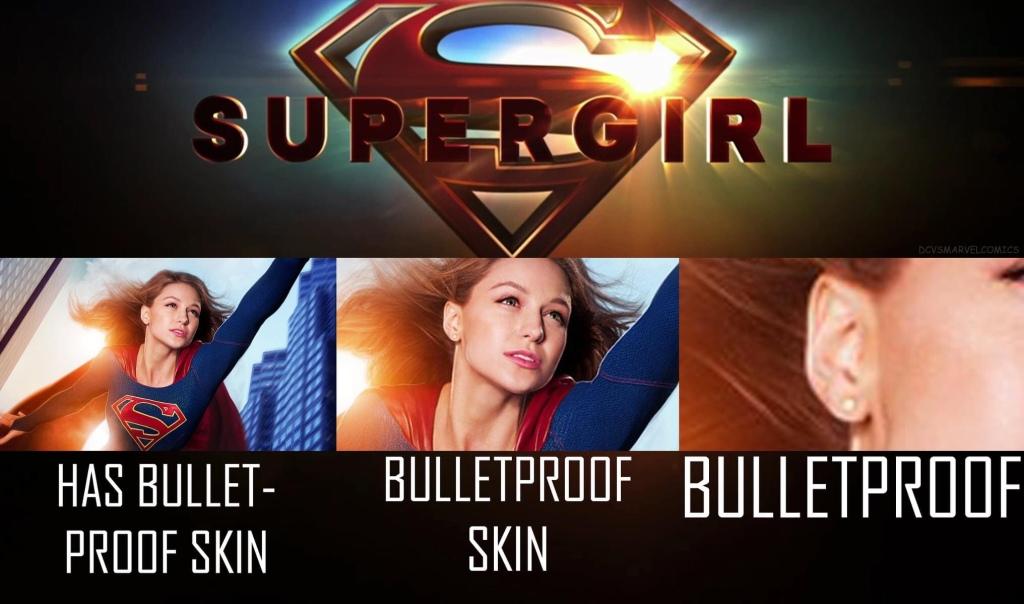 Memes Supergirl bulletproof