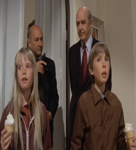 Aristotle Bolt adopts Tia and Tony Malone escape to Witch mountain Disney Kim Richards Ike eisenmann ray milland Donald pleasence