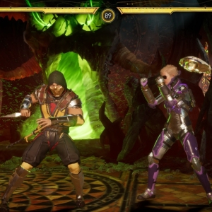 Mortal Kombat 11 Scorpion versus Cassie cage Nintendo switch Xbox One PS4 PlayStation 4 WB Games