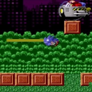 Sonic the Hedgehog 1 Spring Yard Zone boss Sega genesis Sega mega drive