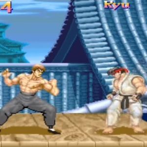 Fei Long VS Ryu street fighter II snes arcade Capcom